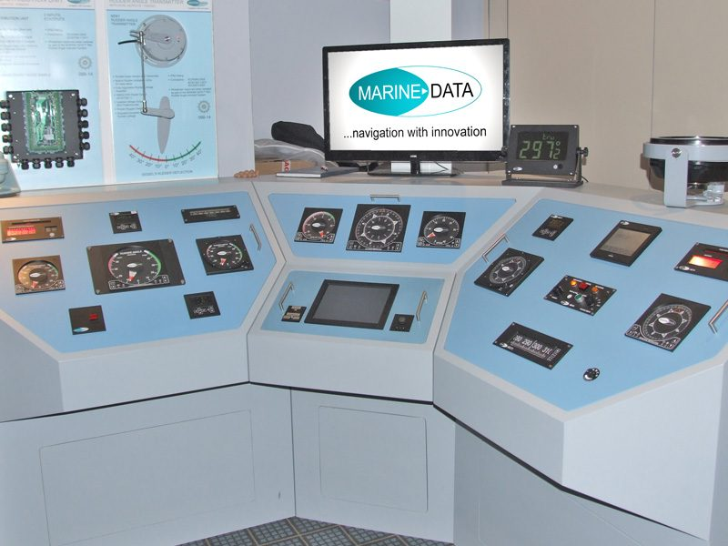 Showcasing MARINE DATA's latest product range